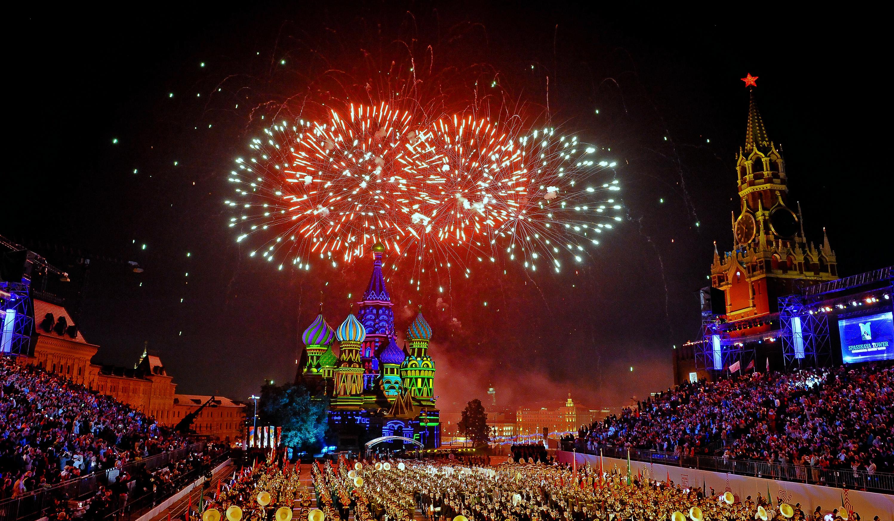 Новый год у кремля 2017 концерт